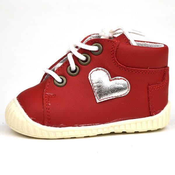 Z14 Maus első lépés cipő szívecskével